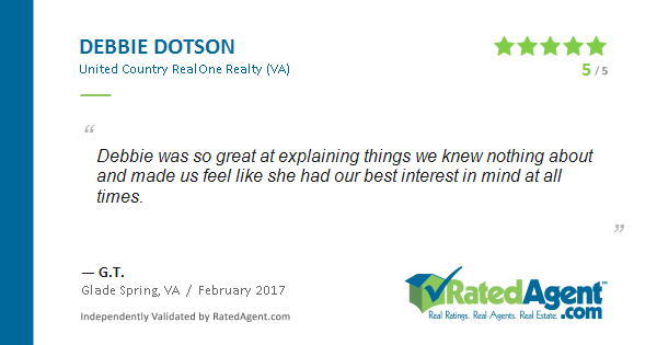 Verified Buyer Review for Debbie Dotson